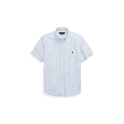 (POLO RALPH LAUREN/ポロ ラルフローレン)クラシックフィットシアサッカーシャツ/メンズ ブルー