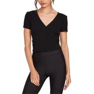 ボルコム レディース Tシャツ トップス Volcom Lil Short-Sleeve T-Shirt - Women's Black