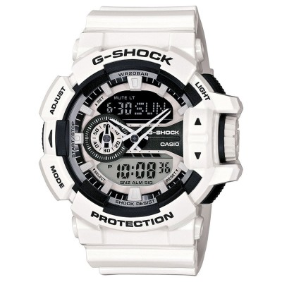 【G-SHOCK】Hyper Colors ハイパーカラーズ / GA-400-7AJF / Gショック (ホワイト×ブラック)