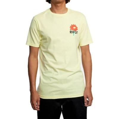 ルーカ RVCA メンズ Tシャツ トップス Breakout Short - Sleeve Shirt Bright Yellow