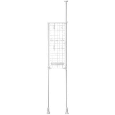 アイリスオーヤマ ランドリーラック メッシュパネル 高さ200~270cm ホワイト LRM-27