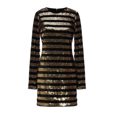 アールティーエー RTA ミニワンピース&ドレス ゴールド 4 ポリエステル 100% ミニワンピース&ドレス