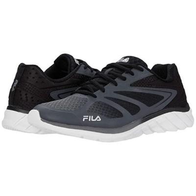 フィラ Memory Speedstride 4 メンズ スニーカー 靴 シューズ Castlerock/Black/Metallic Silver