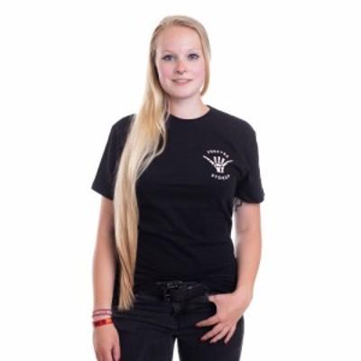 ユナイト クロッシング Unite Clothing レディース Tシャツ トップス - Forever Black - T-Shirt black