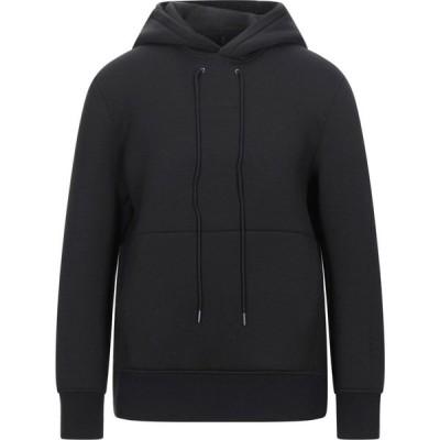ブラックバレット BLACK BARRETT メンズ スウェット・トレーナー パーカー トップス hooded sweatshirt Black