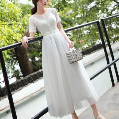 ウェディングドレス 白 二次会 花嫁 ウエディングドレス ミモレ丈 袖あり 大きいサイズ 3l フィッシュテール 小さいサイズ 結婚式