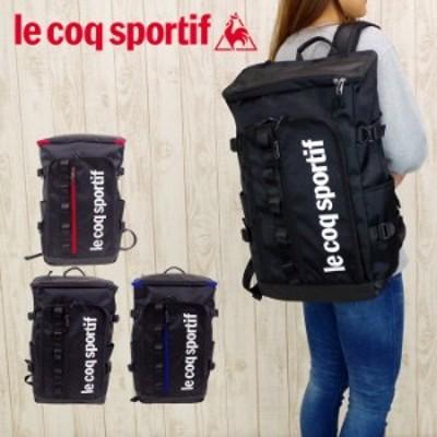 le coq sportif ルコック バッグ リュック 大容量 バックパック ラシェーズ メンズ/レディース ブラック/レッド