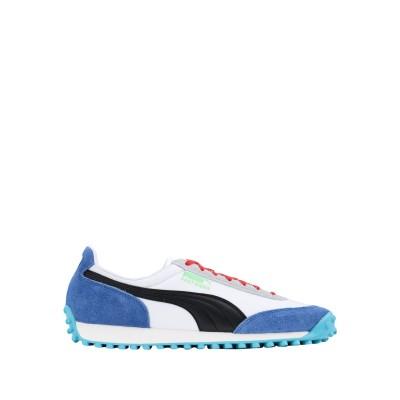 プーマ PUMA スニーカー&テニスシューズ(ローカット) ホワイト 6 革 / 紡績繊維 スニーカー&テニスシューズ(ローカット)