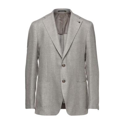 タリアトーレ TAGLIATORE テーラードジャケット ベージュ 48 バージンウール 58% / リネン 42% テーラードジャケット