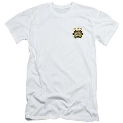 サンズオブアナーキー スピンオフ  MAYANS M.C. マヤンズ パッチ Tシャツ ホワイト