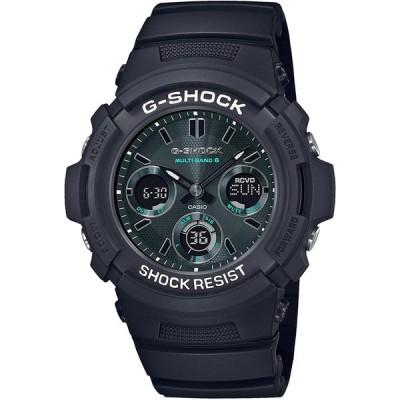 [カシオ] 腕時計 ジーショック Black and Green Series 電波ソーラー AWG-M100SMG-1AJF