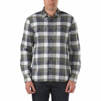 Vans バンズ ファッション アウター Vans Off The Wall Mens Alameda Long Sleeve Plaid Flannel Shirt