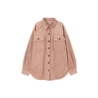 シャツ ブラウス ◆コーディロイビッグシャツ