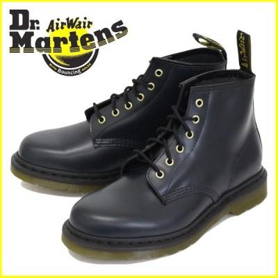 Dr.Martens (ドクターマーチン) CORE 101 6ホール ブーツ NAVY SMOOTH