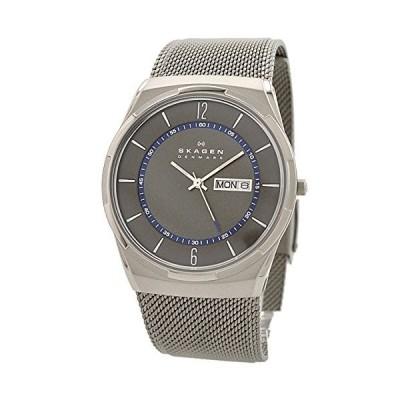 (未使用並行輸入)スカーゲン メンズ腕時計 メンズ チタニウム SKW6078