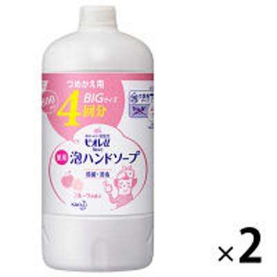 花王ビオレu 泡ハンドソープ フルーツの香り 詰替800ml 1セット(2個) 【泡タイプ】 花王