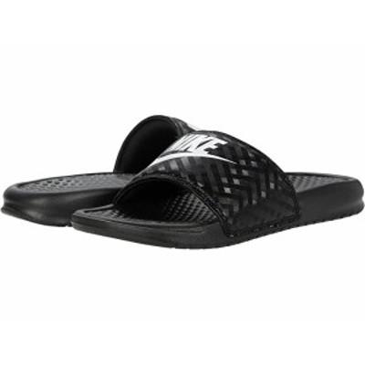 (取寄)ナイキ ベナッシ JDI スライド Nike Benassi JDI Slide Black/White