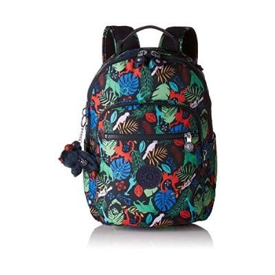 Kipling SEOUL GO S School Backpack, 35 cm, 14 liters, Multicolour (Bare Necessitie) 並行輸入品