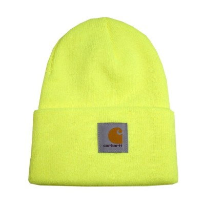 CARHARTT カーハート ニットキャップ ニット帽 ブライトライム ACRYLIC WATCH HAT a18