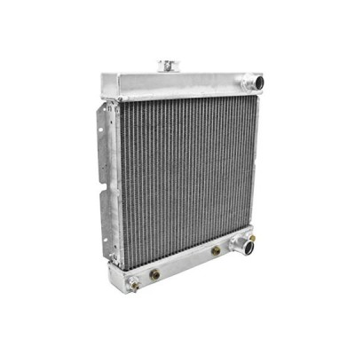 Aluminum Emc Fit 1964-66 Ford Mustang Downflow Radiator Direct Fit W/A