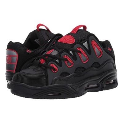 オサイラス D3 2001 メンズ スニーカー 靴 シューズ Black/Red/Fade