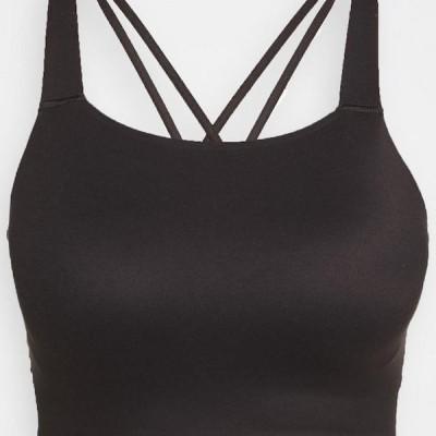ナイキ レディース スポーツ用品 LUXE BRA - Medium support sports bra - black
