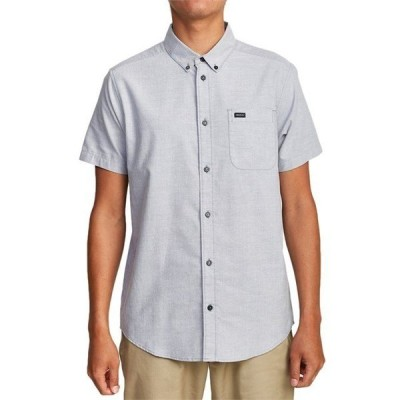 ルーカ メンズ シャツ トップス RVCA That'll Do Stretch Short-Sleeve Shirt