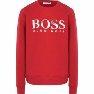 ヒューゴ ボス Boss レディース トップス Hbb Elaboss Crewneck Open Red