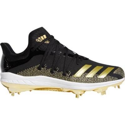 アディダス メンズ スニーカー シューズ adidas Men's adizero Afterburner 6 GOLD Metal Baseball Cleats