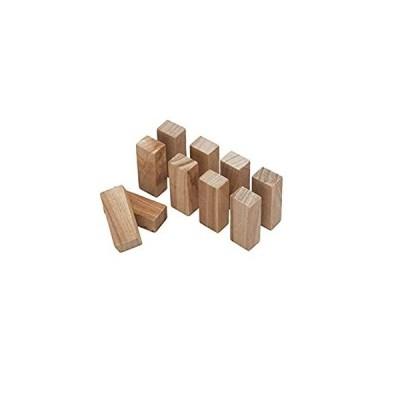 酒井産業 くすのきブロック・タンス用(10個組) 約2.8・6.7・2cm 天然の防虫効果 防湿 木製 置くだけ クスノキ タンス インテリア 手軽