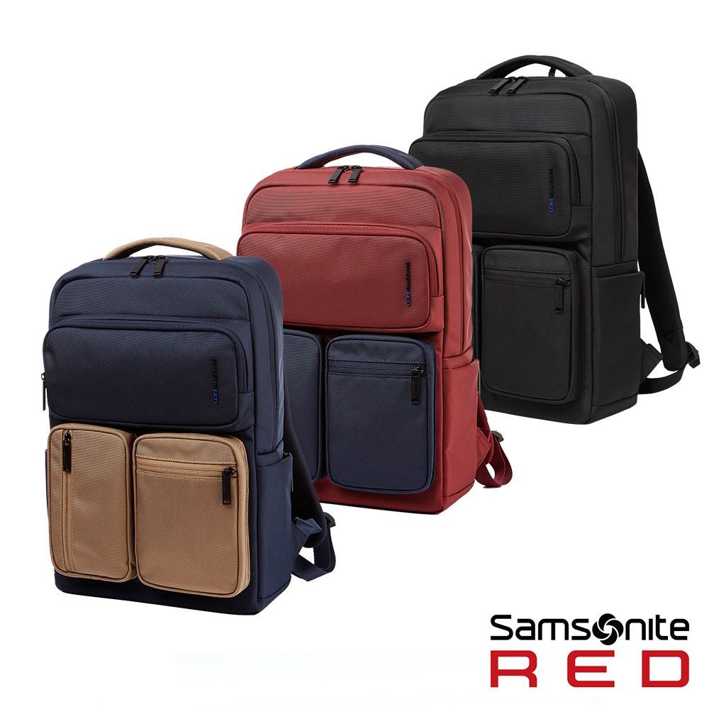 Samsonite RED ALLOSSE 多隔層收納型筆電後背包14(三色可選)