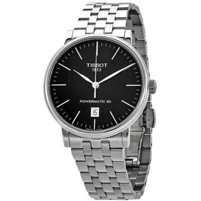 ティソ 腕時計 Tissot Carson Automatic Black Dial メンズ Watch T122.407.11.051.00