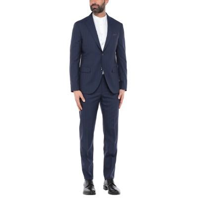 ボリオリ BOGLIOLI スーツ ブルー 52 バージンウール 100% スーツ