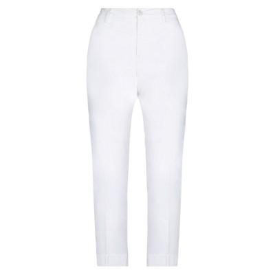 リハッシュ RE-HASH パンツ ホワイト 32 コットン 98% / ポリウレタン 2% パンツ