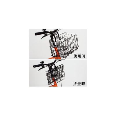 『送料無料』ミムゴ mimugo 折畳みカゴ/オプションパーツ MG-KG50 ブラック