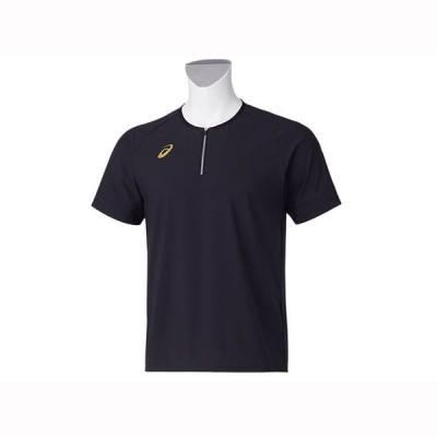 ゴールドステージ クロスベースボールシャツ 【ASICS】アシックス SAベ-スボ-ル スク-ルプラクテイスシヤツ (2121A291)