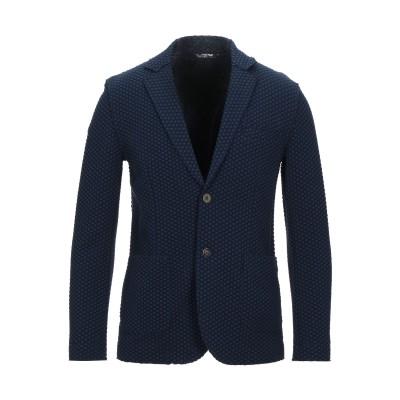 KOON テーラードジャケット ダークブルー 52 コットン 49% / ナイロン 48% / ポリウレタン 3% テーラードジャケット