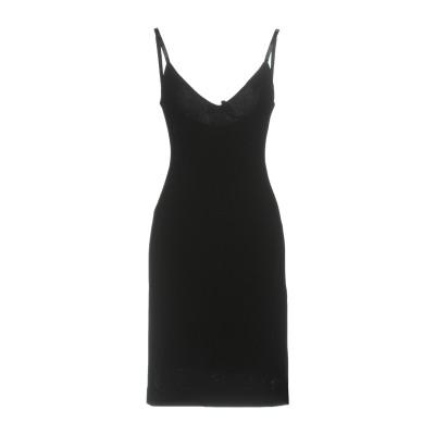 ディースクエアード DSQUARED2 ミニワンピース&ドレス ブラック XS レーヨン 95% / ナイロン 3% / ポリウレタン 2% ミニワ