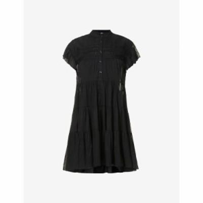 イザベル マラン ISABEL MARANT ETOILE レディース ワンピース ティアードドレス ワンピース・ドレス Lanikaye tiered cotton mini dress