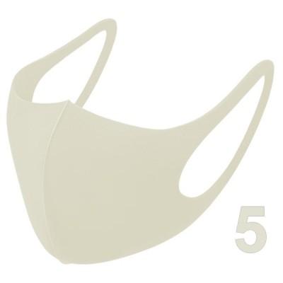 ウレタンマスク(5枚入/大人用/バニラ)