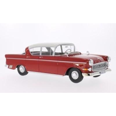 BoS Models 1958年モデル オペル カピテーン P 2.5 レッド・ホワイト
