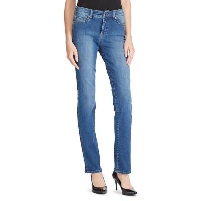 ラルフローレン レディース デニムパンツ ボトムス Ultimate Slimming Premier Straight Curvy Jeans Harbor Wash