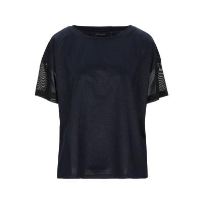 ARMANI EXCHANGE T シャツ ダークブルー XS ポリエステル 96% / ポリウレタン 4% / ナイロン T シャツ