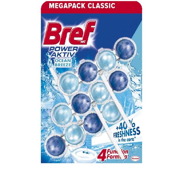 德國Bref強力馬桶芳香清潔球50gx3入組海洋