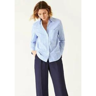IVY & OAK レディースブラウス IVY & OAK Button-down blouse - horizon blue horiz