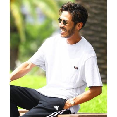 【ジギーズショップ】 Dickies(ディッキーズ)半袖Tシャツ / Tシャツ メンズ ティーシャツ 半袖 クルーネック メンズ グレー M JIGGYS SHOP