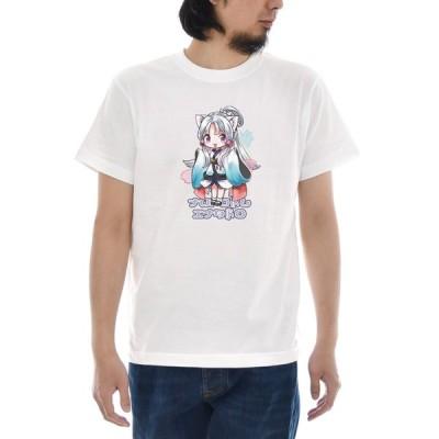 東北イタコ Tシャツ 半袖Tシャツ メンズ レディース 大きいサイズ 東北 ずん子 イタコ きりたん いたこ おしゃれ かわいい 可愛い 女の子 S M L XL 3L 4L TZ-012