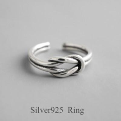 【Silver925★送料無料★フリーサイズ★新作】silver925 シルバー リング 指輪 レディース レイヤード 太 幅広 ボールド デザインリ
