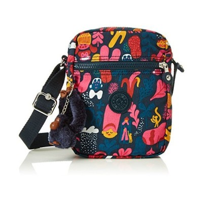 Kipling Women's Offer Cross-Body Bag, Multicolor (37V Sanna Print), 15x20x6 cm (B X H X T) 並行輸入品