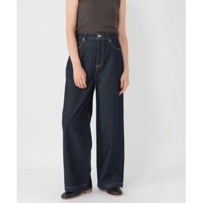 studio CLIP / アースカラーワイドデニムパンツ WOMEN パンツ > パンツ